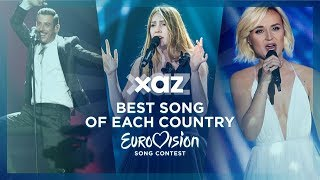Eurovision: Best song of each country (2000-2017)