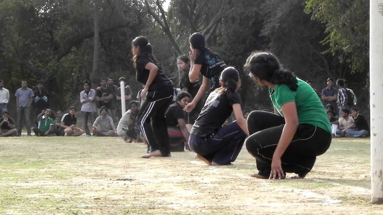 All Indian Girls Wallpaper Nit Nagpur Vnit Girls Kho Kho Cse 2nd Part Youtube