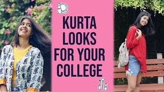 Download Kurta Looks for EVERY COLLEGE GIRL | Sejal Kumar Mp3 and Videos