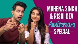 Mohena Singh और Rishi Dev ने खोले अपने Secrets  Yeh Risht Kya Kehlata Hai  Never Have I Ever
