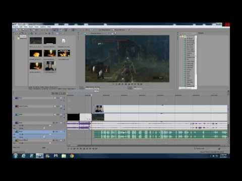How I make Game Videos with Sony Movie Studio 12