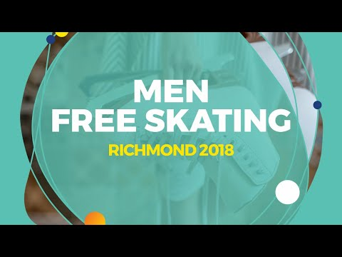 Adam Siao Him Fa (FRA) | Men Free Skating | Richmond 2018