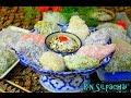 How to Make Thai Khanom Tua Pap (sweet mung bean dumplings) ขนมถั่วแปบ