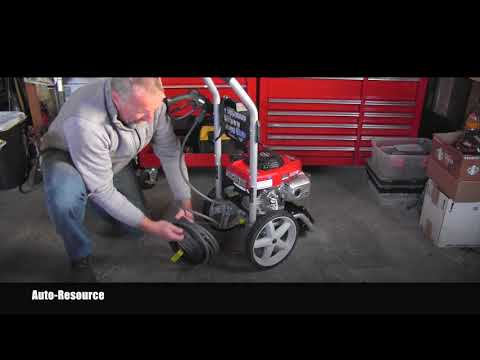 Honda 3100 PSI Pressure Washer unboxing and setup