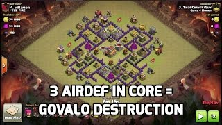 TH8 GoVaLo 3 Star Destruction | Mister Clash | Clash of Clans