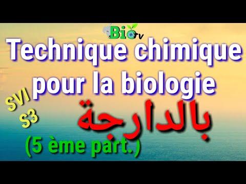 Technique chimique pour la biologie s3 - chromatographie en phase gazeuse -CPG