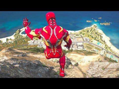 download GTA 5 SPIDERMAN vs IRON MAN Ragdolls Compilation (Jumps,Falls,Fails) Superheroes