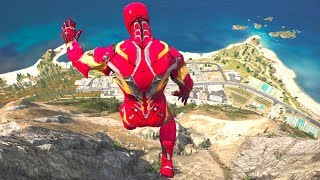 GTA 5 SPIDERMAN vs IRON MAN Ragdolls Compilation (Jumps,Falls,Fails) Superheroes