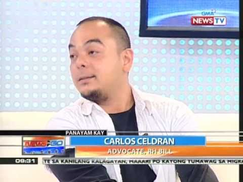 News to Go - Kara David interviews RH advocate Carlos Celdran 3/25/11