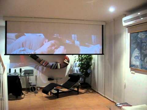 Proyector epson tw3600 con pantalla de 135 300x170cm for Pantalla proyector electrica