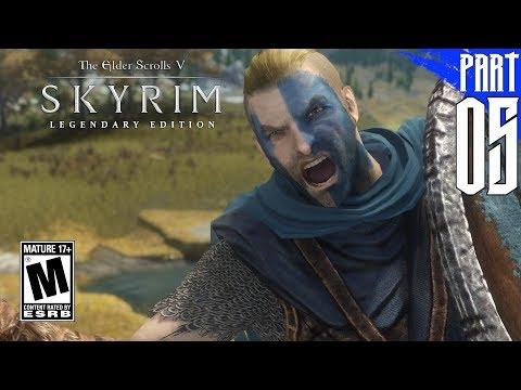 SKYRIM 200+ MODS】Nord Gameplay Walkthrough Part 5 [PC - HD