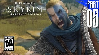 【SKYRIM 200+ MODS】Nord Gameplay Walkthrough Part 5 [PC - HD]