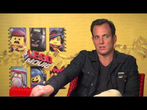 THE LEGO MOVIE: Exclusive Interview Will Arnett