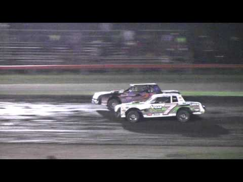 Farmer City Raceway Street Stock Heat 2, 9 17 15