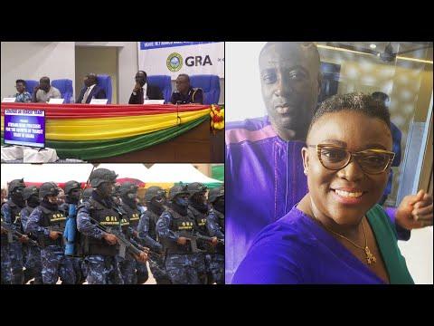 Ghana Revenue Authority K!cks Captain Smart in Court..