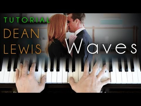 Waves - Acoustic Version (piano tutorial) Dean Lewis