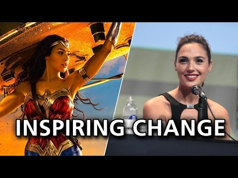 Wonder Woman - Inspiring change in small ways