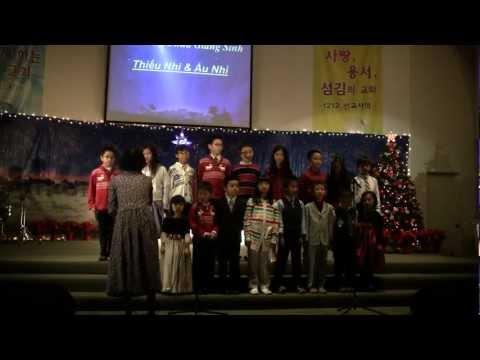 Chương Trình Giáng Sinh tại HTTL Garden Grove * Christmas 2012