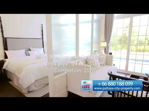 Beachfront condo for sale in Pattaya. Grand Florida Beachfront