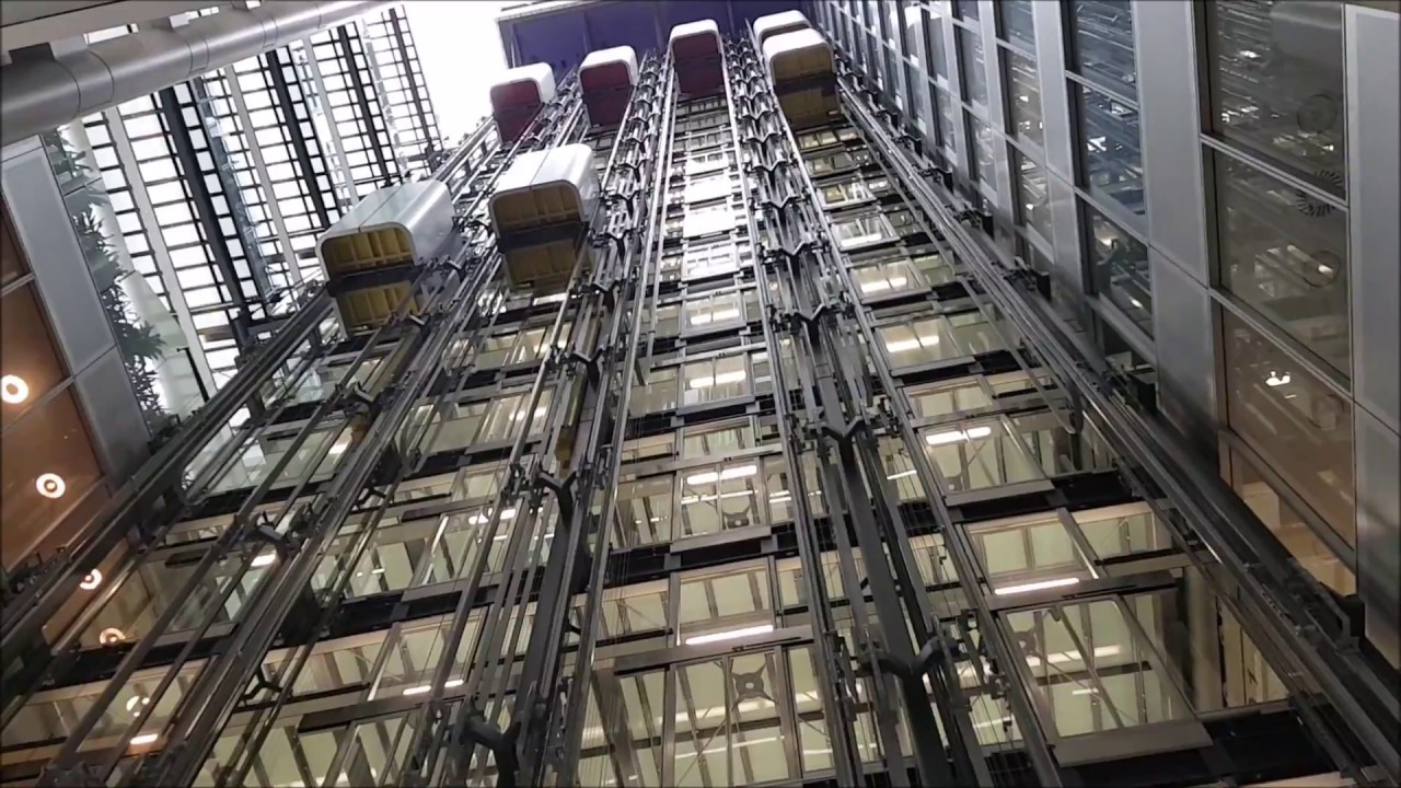 Thyssenkrupp Twin Lift System St Botolph Building Youtube