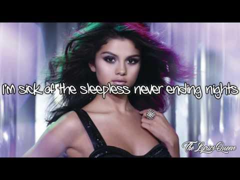 Selena Gomez & The Scene - Sick Of You [Lyrics] HD