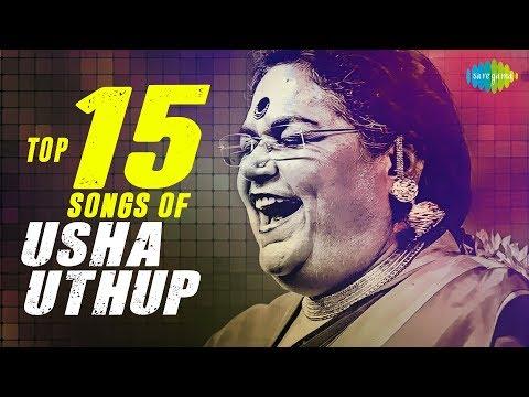 Top 15 songs of Usha Uthup | उषा उथुप के 15 गाने | HD Songs | One Stop Jukebox