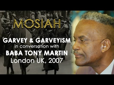 Garvey & Garveyism: Baba Tony Martin - In Conversation | London UK 22 Apr 2021