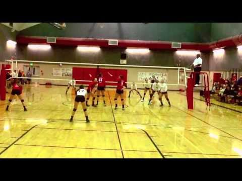 13 Hailey Lindberg Monte Vista Serving Aces 2013