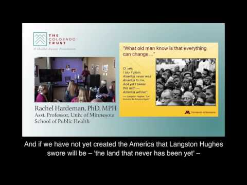 Racism and Health Inequities (English subtitles) - Health Equity Learning Series