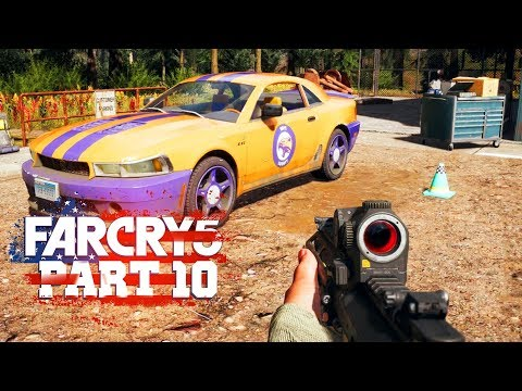 CAR CUSTOMIZATION - Far Cry 5 - Part 10 (Let's Play / Walkthrough / PS4 Pro Gameplay)