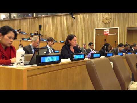 Voordracht Verenigde Naties