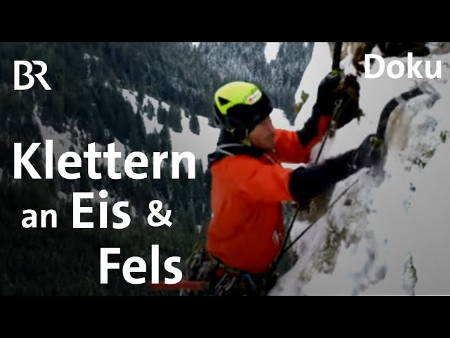 Eiskletterer und Allrounder: Alpinist Fritz Miller | Bergauf-Bergab | Porträt | Doku | Berge | BR