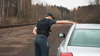 Getting pulled over by the police: USA vs Finland