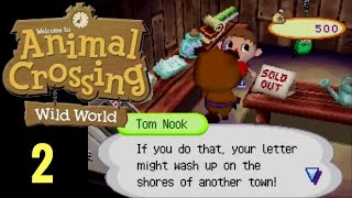 Animal Crossing Wild World Ep 2 Note in a Bottle