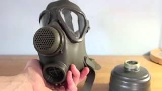 German M65 & M65z Gas Masks