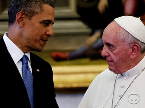 "Obama ""incredibly moved"" by meeting with Pope Francis"