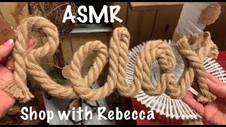 ASMR Shopping/Consignment shop/ sound variety (No talking)