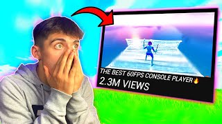 """REACTING To The """"BEST 60 FPS CONSOLE PLAYERS""""... (INSANE)"""