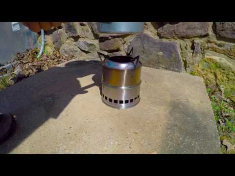small wood gasifier stove from Amazon