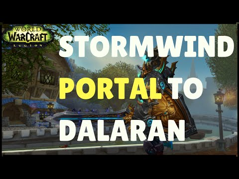 wow how to get to old dalaran
