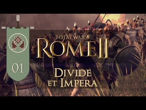 Total War: Rome II (Divide et Impera) - Armenia - Ep.01 - A Surprising Turn of Events!