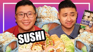 Is Supermarket Sushi GARBAGE? | Sushi Mukbang