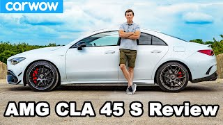 AMG CLA 45 S review - see how quick it REALLY is to 60mph!