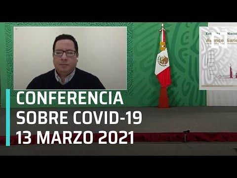 Informe diario Covid-19 en Vivo - 13 de Marzo 2021