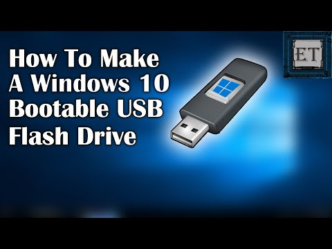 How To Make A Windows 10 Bootable USB For FREE