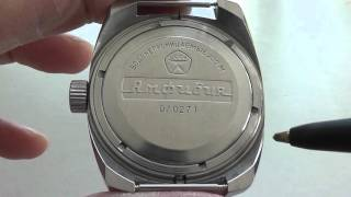 Vintage Vostok Amphibian