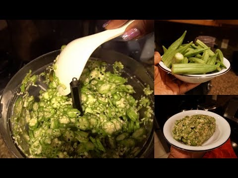 How to slice okra using a food processor youtube how to slice okra using a food processor forumfinder Gallery