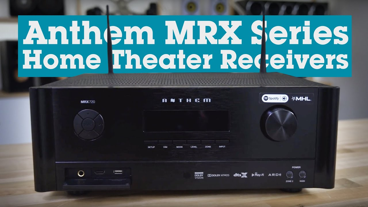 Anthem MRX Series home theater receivers | Crutchfield video