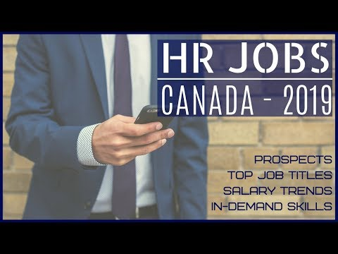 🇨🇦 HR Jobs In Canada-2019 | Canada Jobs For Indians