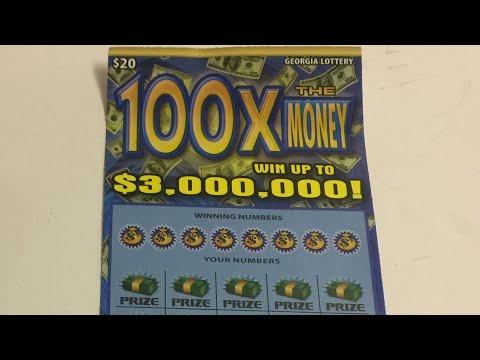 Georgia Lottery: $20 100X The Money